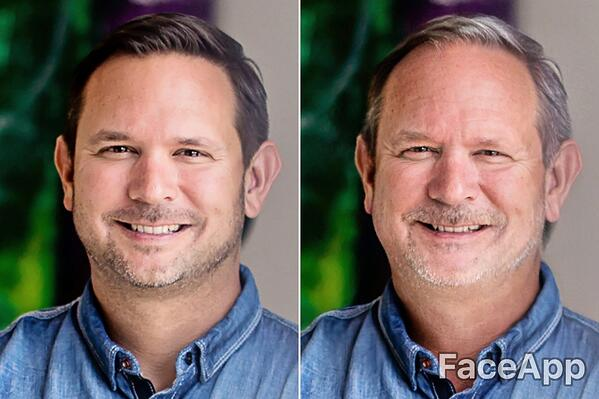 Brian Culbertson FaceApp Old Age Challenge